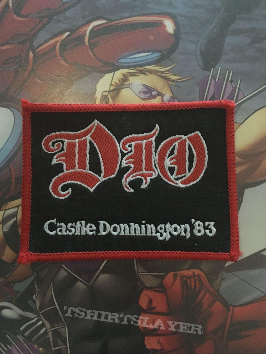 Patch Dio Castle Donnington