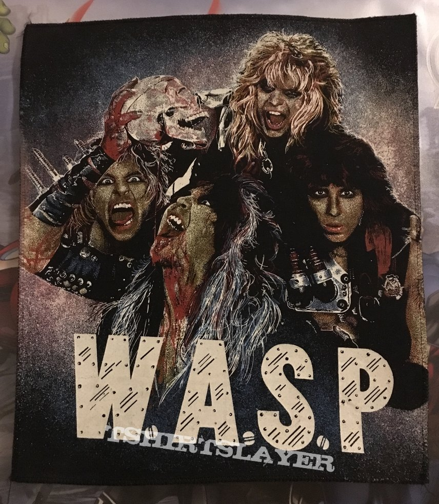 Backpatch W.A.S.P Got Blood