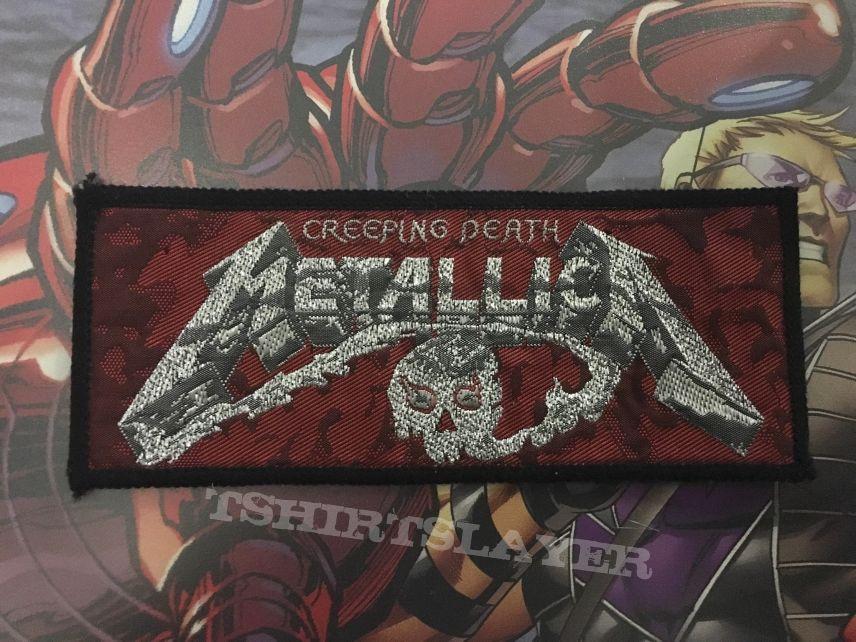 Patch Metallica Creeping Death Stripe