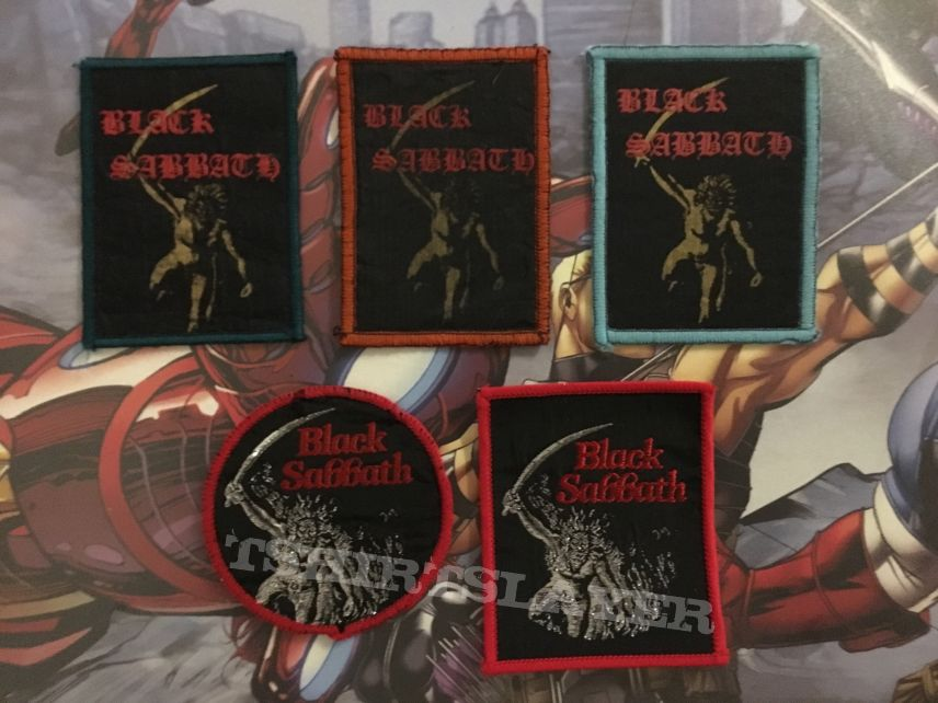 Patch Black Sabbath Paranoid collection