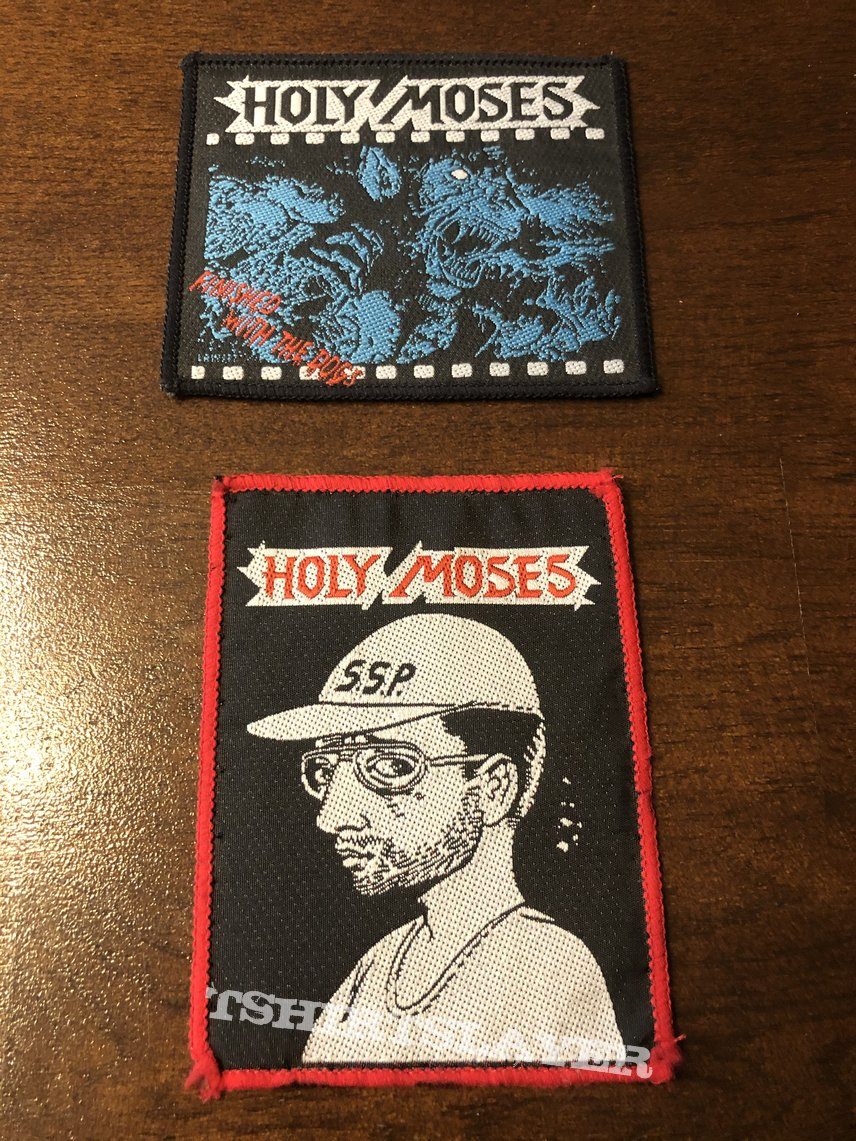 Holy Moses Patches