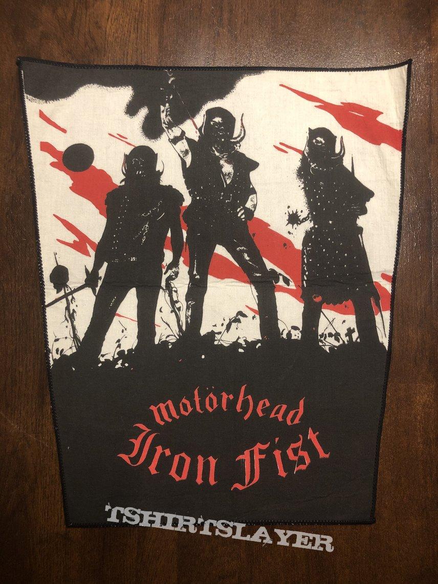 Back Patch Motörhead Iron Fist