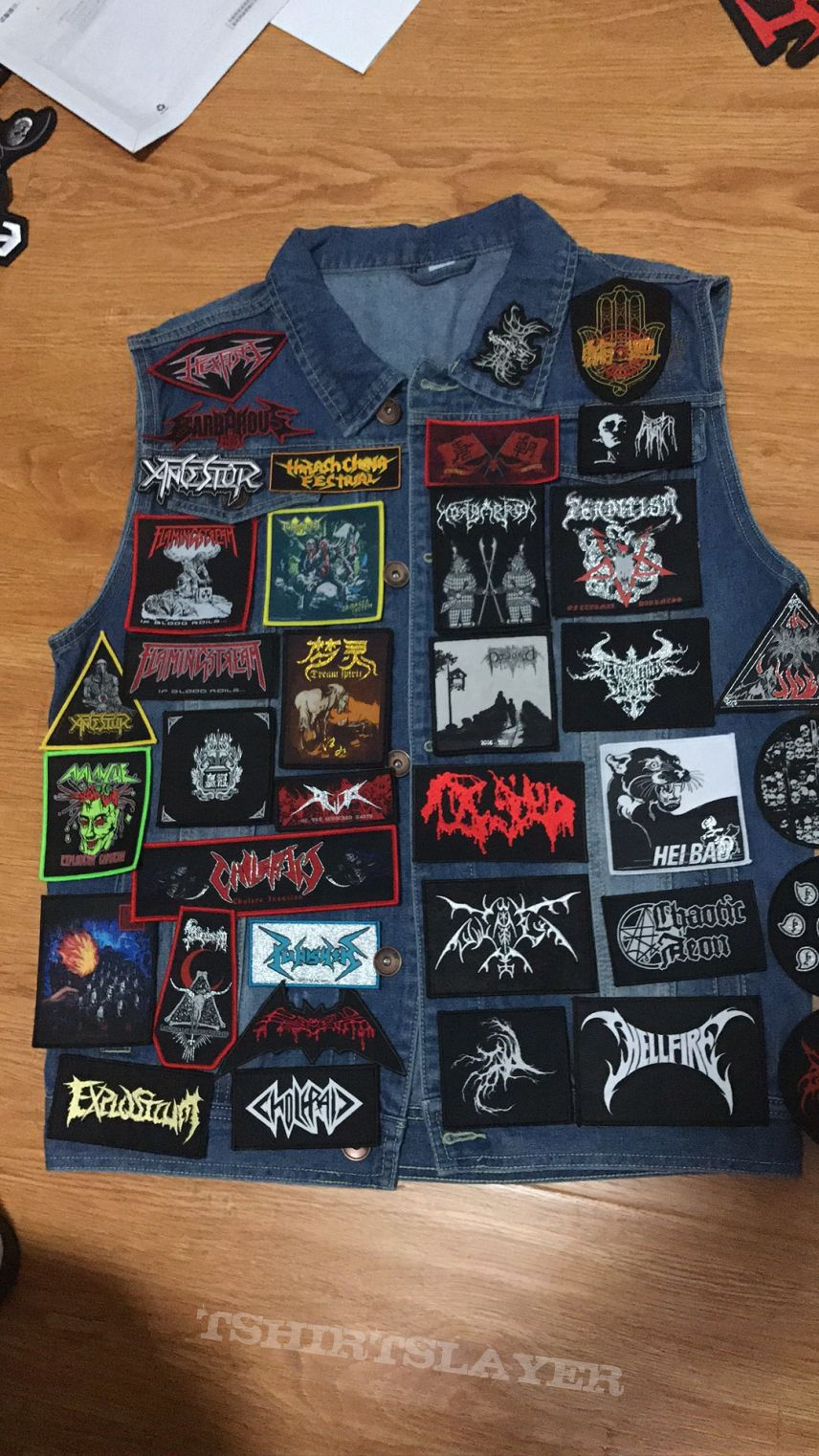 All Chineseh metal band patches