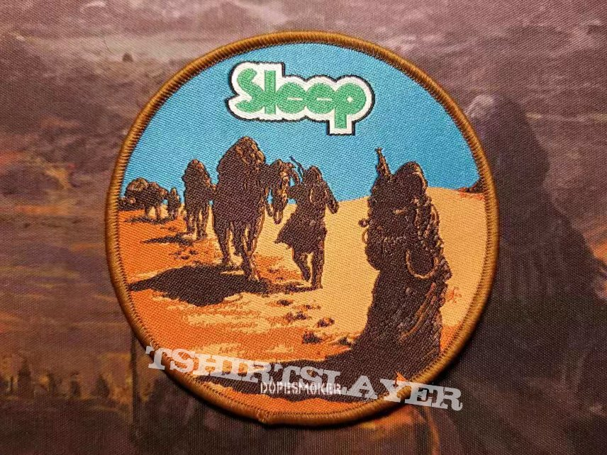 Sleep dopesmoker patch with brown border