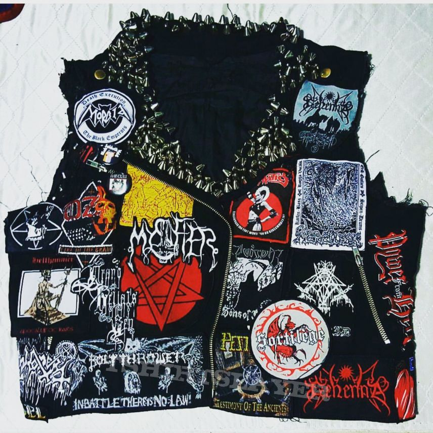 One of my Vests...