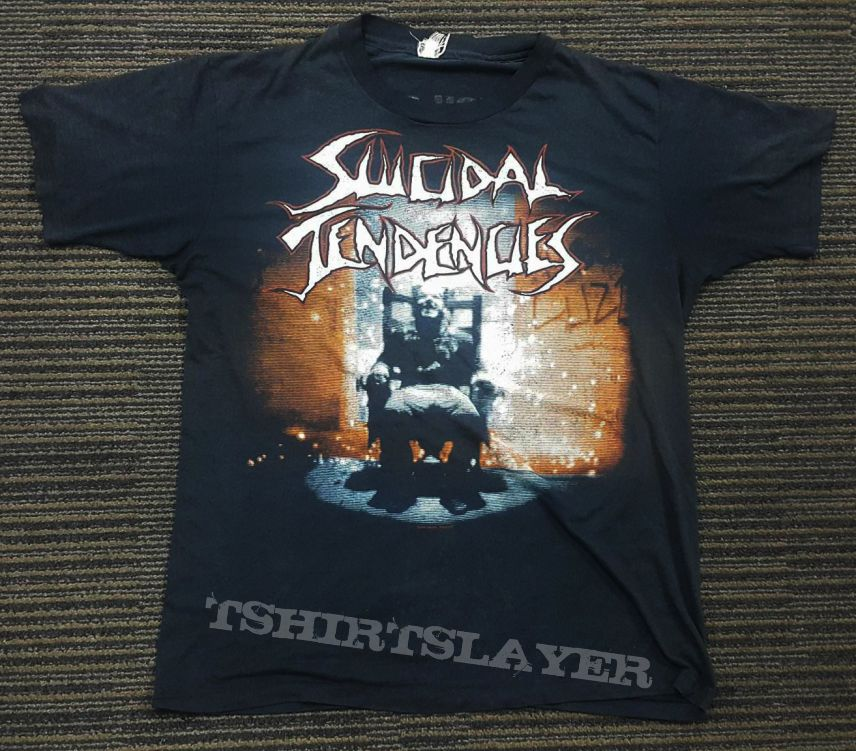 Suicidal Tendencies - You Can't Bring Me Down tour shirt