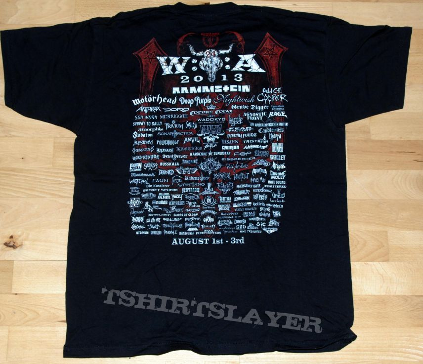 "Wacken ""2013"" Tshirt xl"