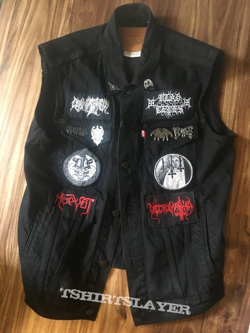 Vampyric/ Raw Black Metal Vest