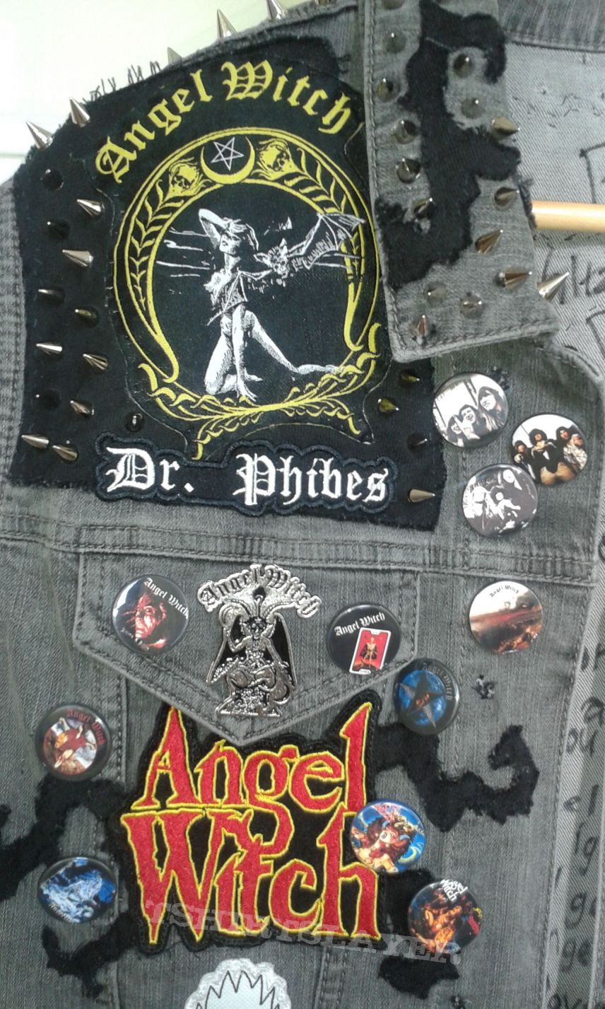 Angel Witch Tribute Battlejacket.