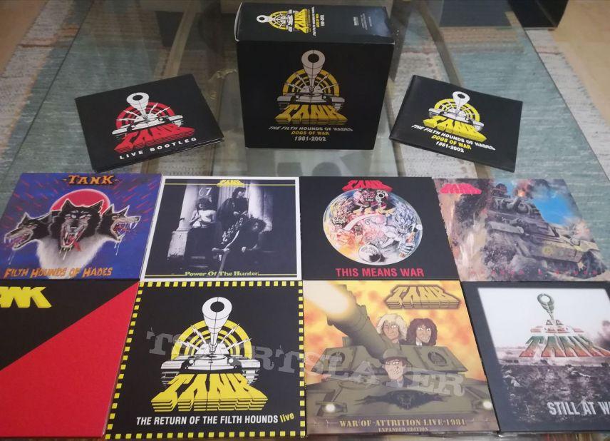TANK - Dogs of War 1981 - 2002