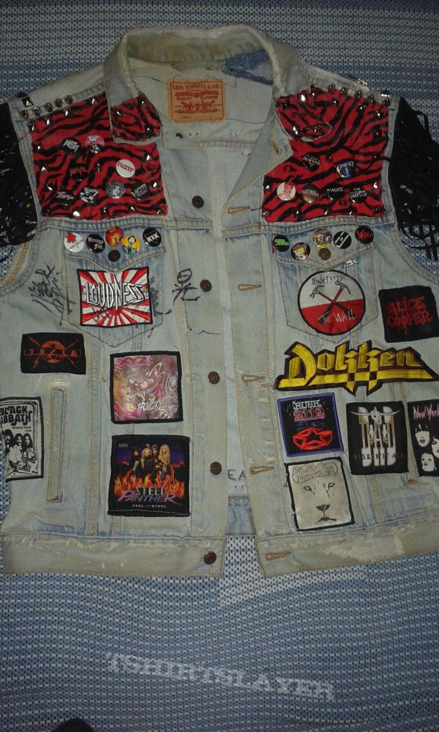 My oldest battle jacket.
