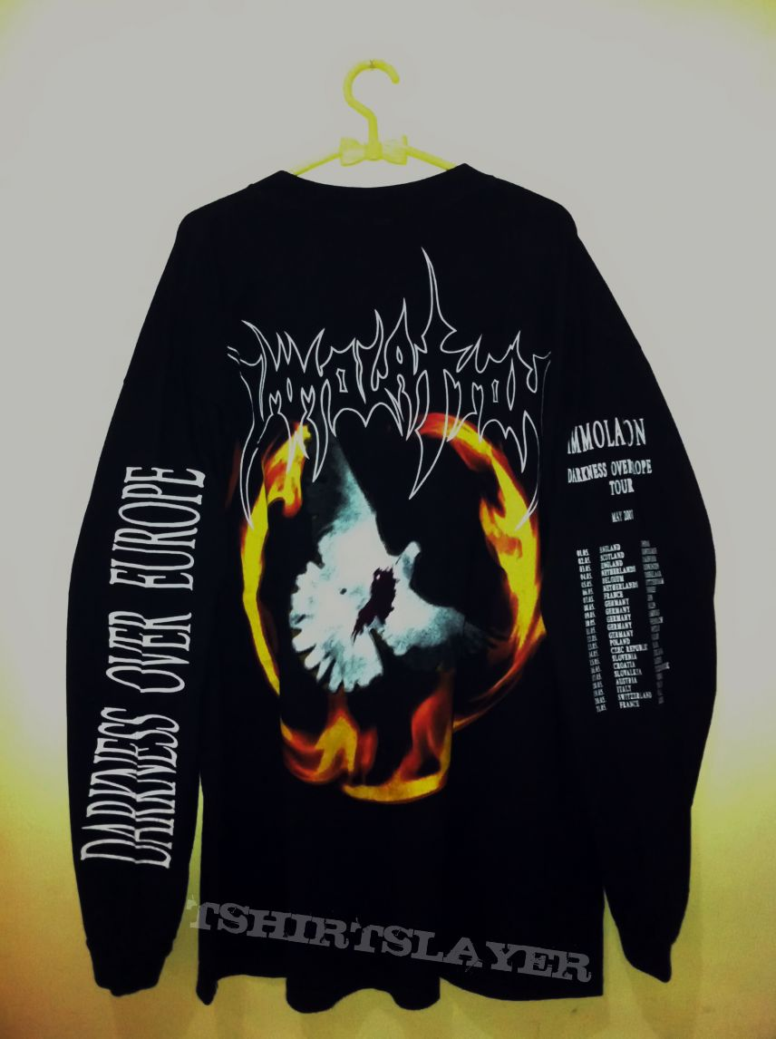 Immolation Darkness Over Europe Tour 2001