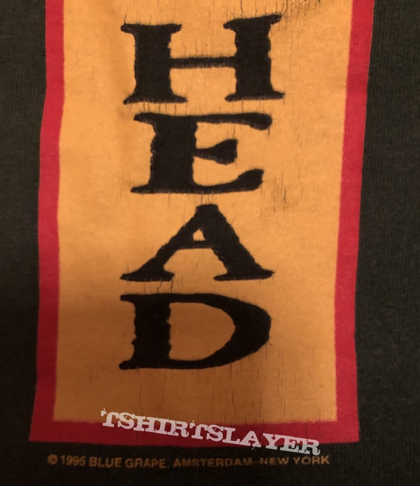 """Machine Head """"An open mind with a closed fist"""" shirt 1995"""