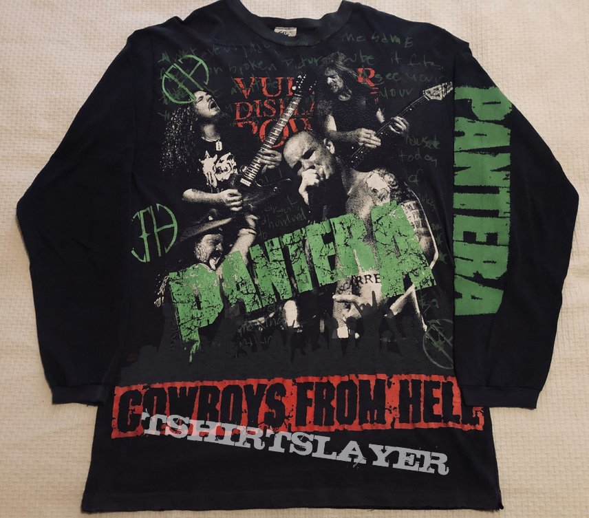 Original Cowboys from hell all over print longsleeve
