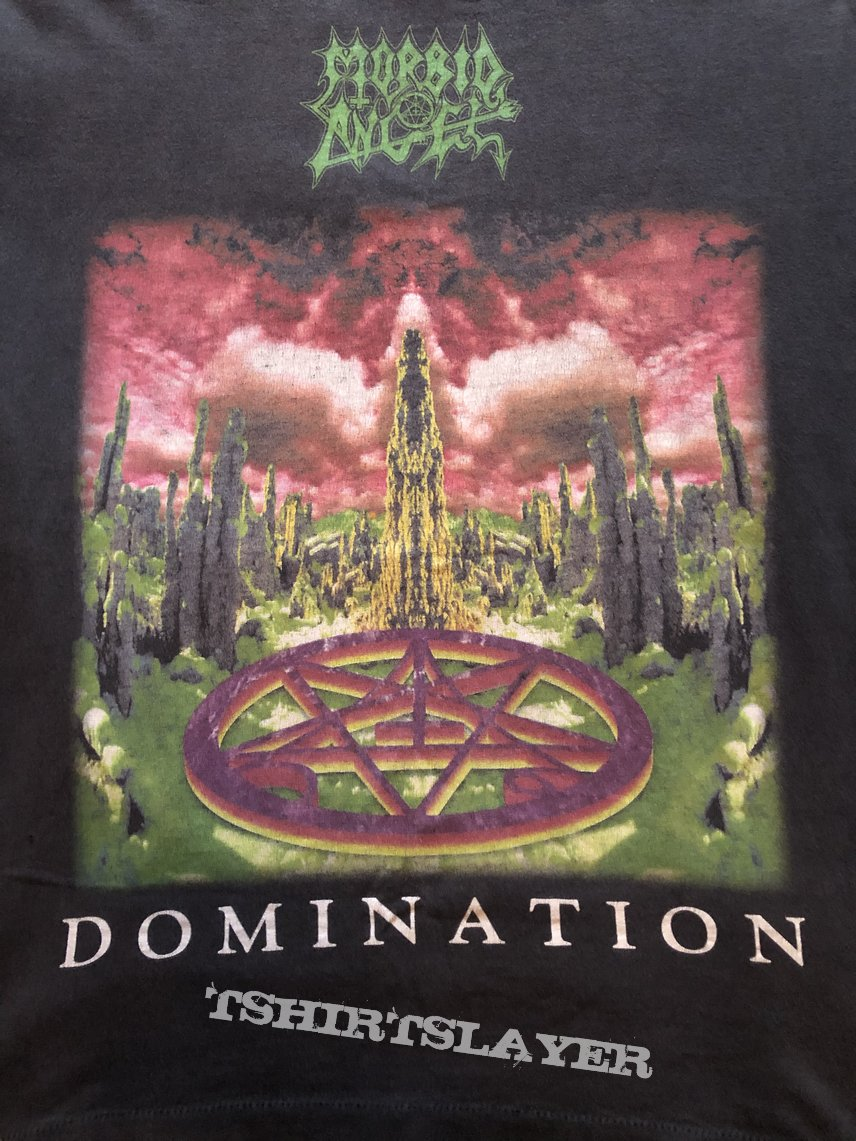 Morbid Angel Domination US tour longsleeve