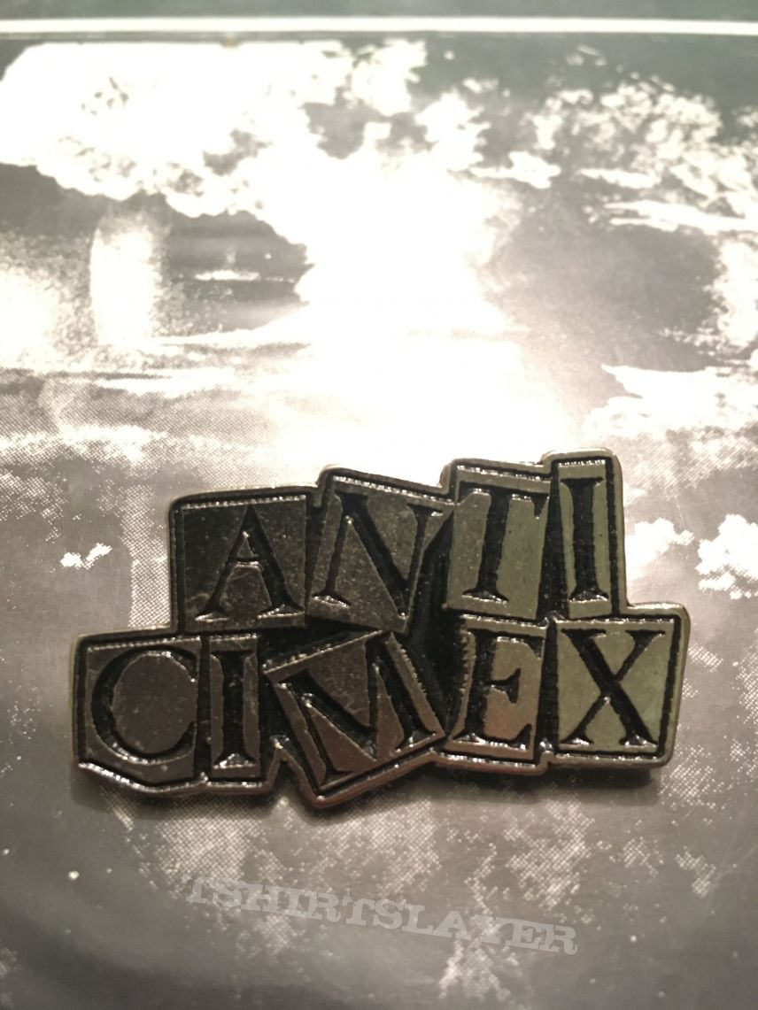 Anti cimex metal badge