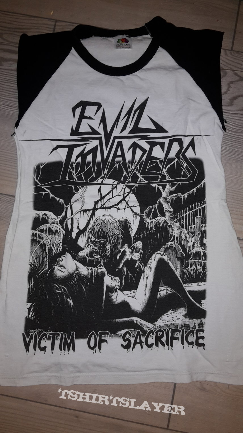 Evil Invaders - Victim of Sacrifice shirt sleeveless