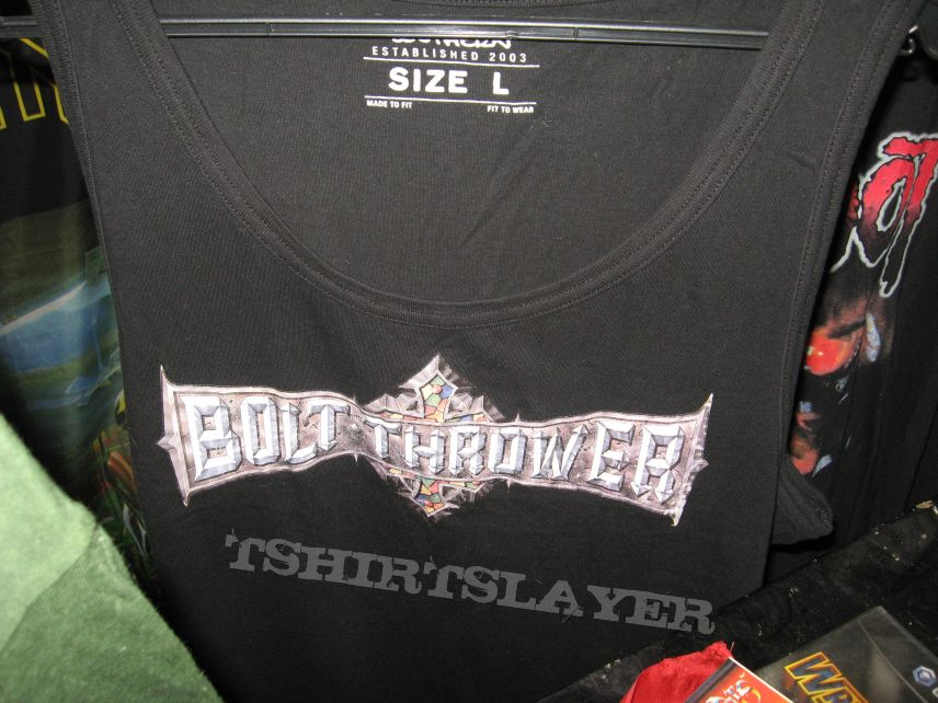 bolt thrower shirt tank top