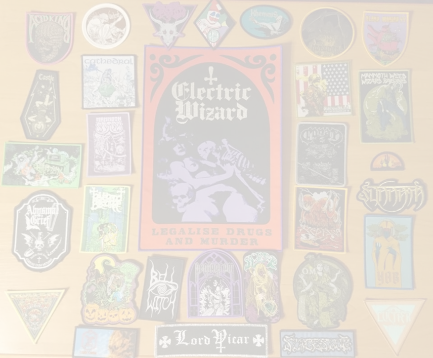 My Stoner/Doom/Sludge/Psychodelic patches collection