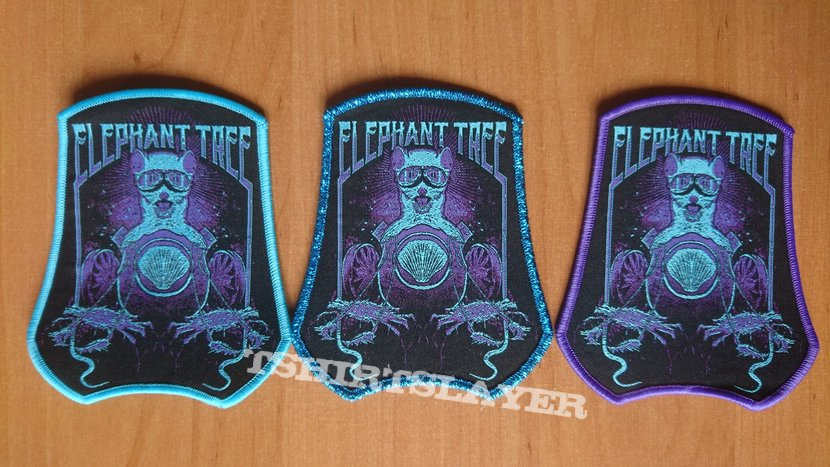 Official Elephant Tree Woven Patch