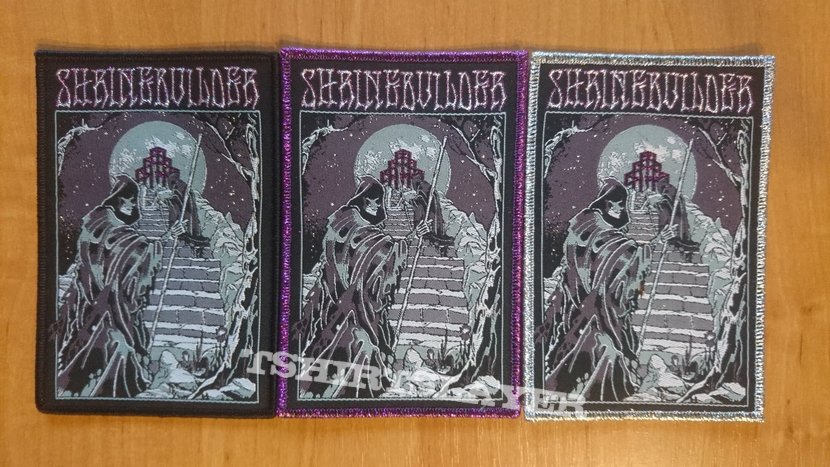 Official Shrinebuilder Woven Patch