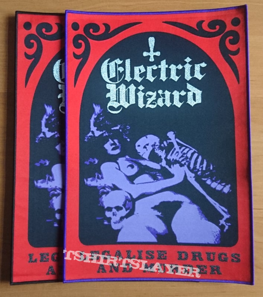 Official Electric Wizard backpatch