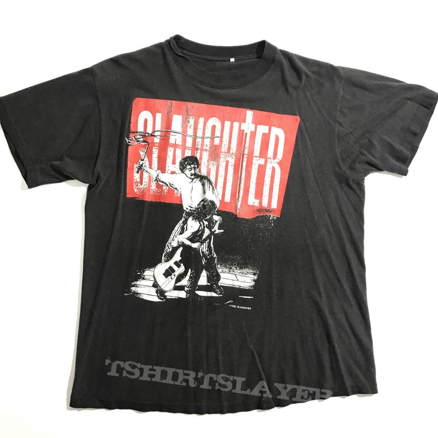©1992 Slaughter - The Wild Life tour shirt