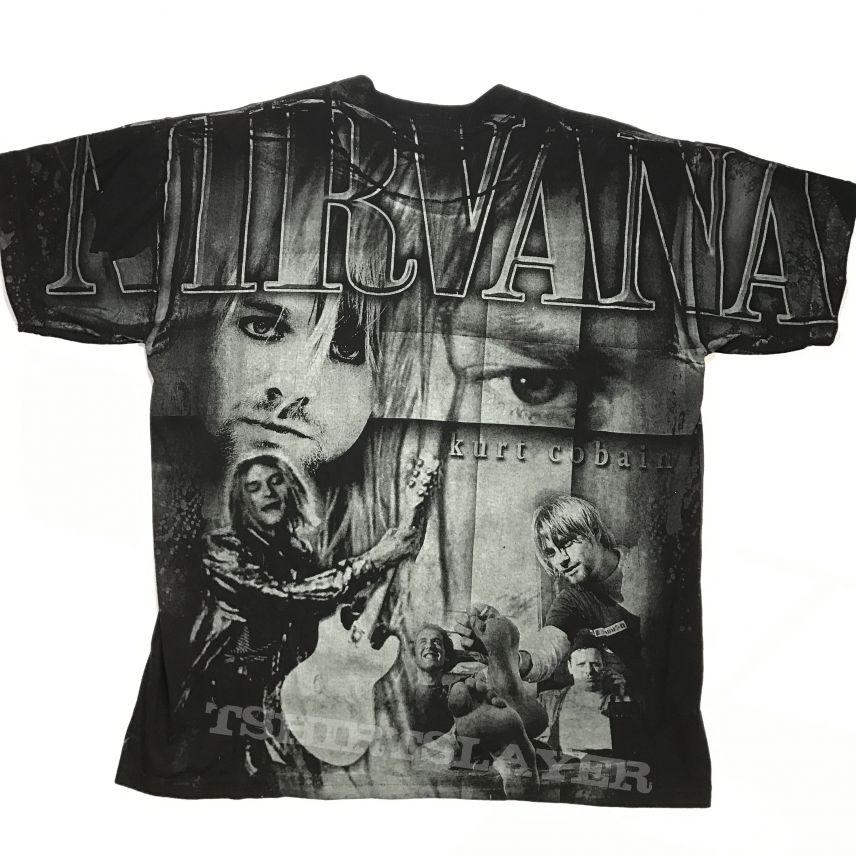 Nirvana All over print shirt