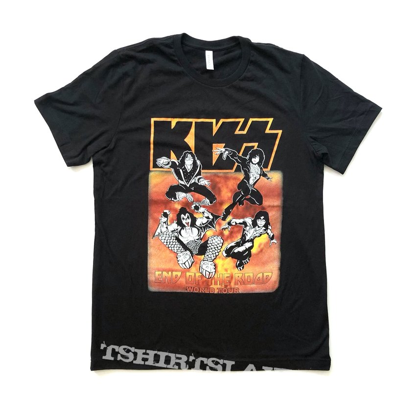 Kiss - End of the Road World Tout shirt