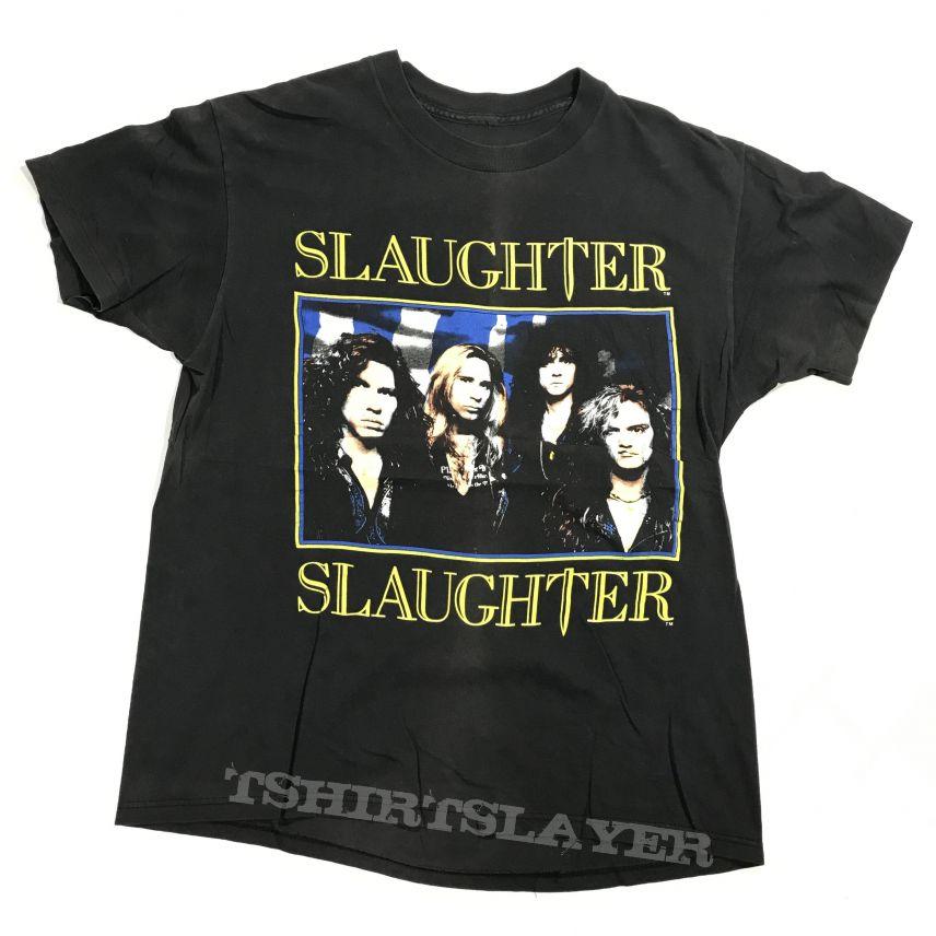 1990 Slaughter - Stick It To Ya tour shirt