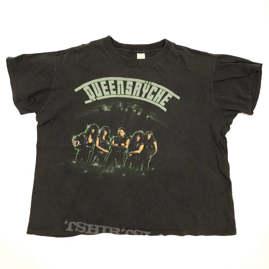1985 Queensryche - The Warning Tour shirt