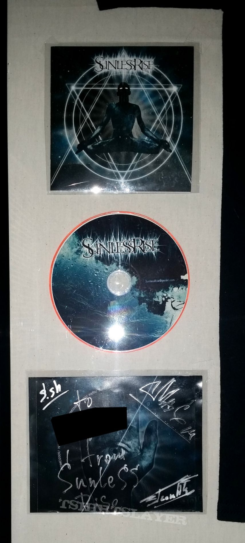 Sunless Rise, LE Shirt & Signed Demo CD