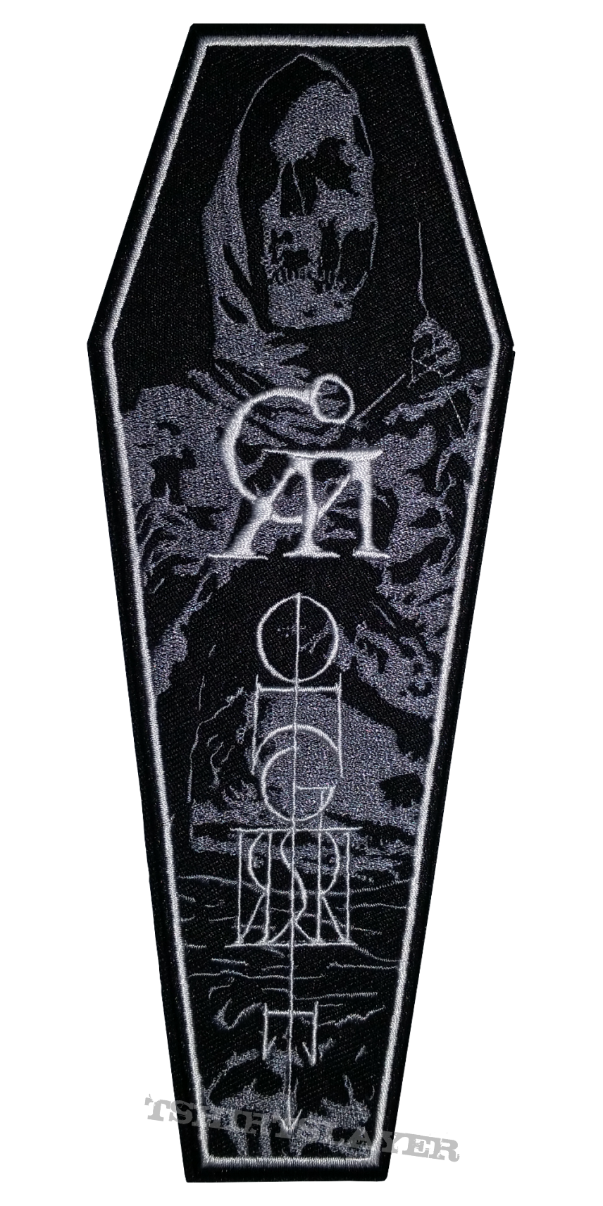 Goatwhore 2017 N.America Tour Coffin Patch