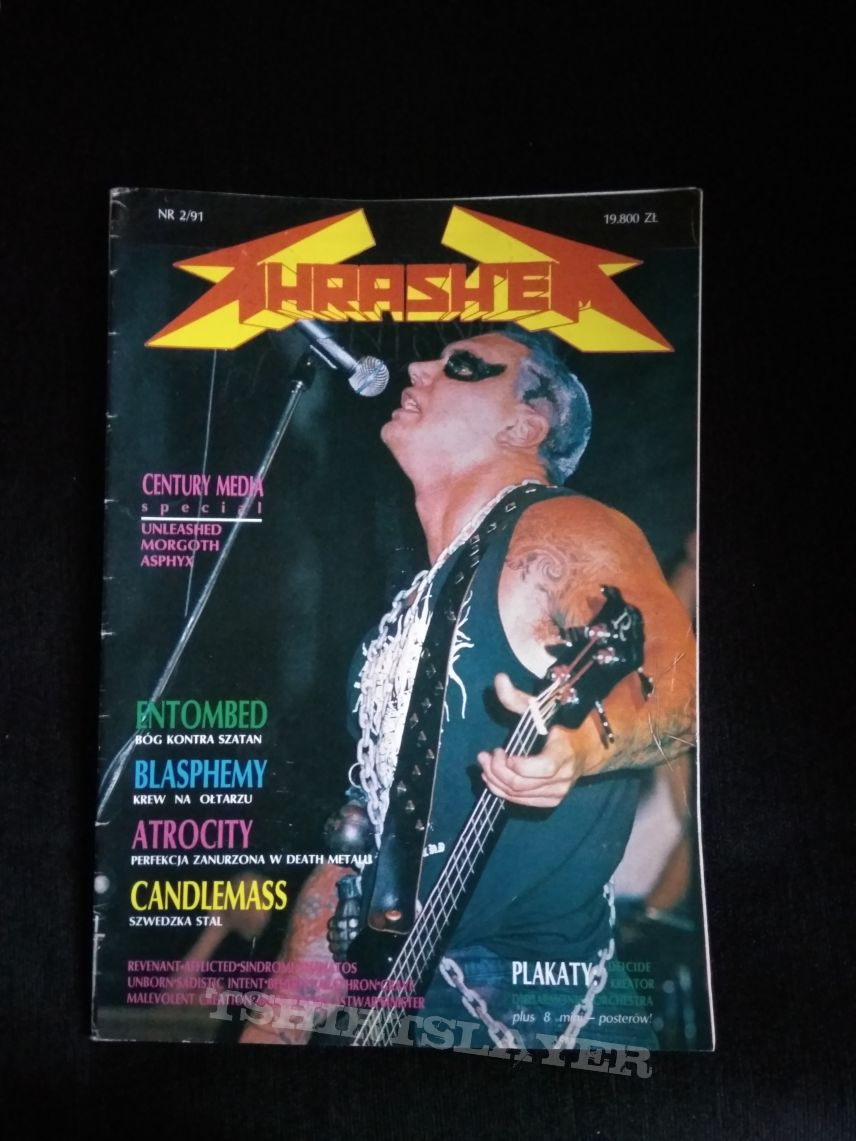 Thrash'Em № 2/1991(only zine ,without posters!)