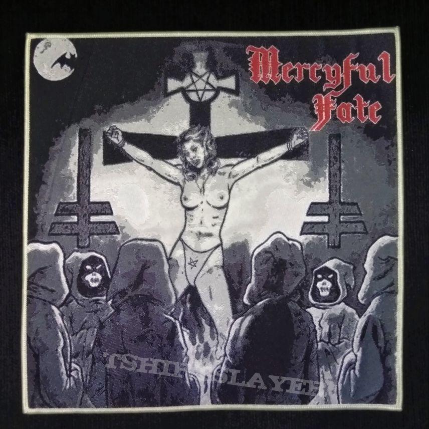 Mercyful Fate woven back patch 20x20 cm