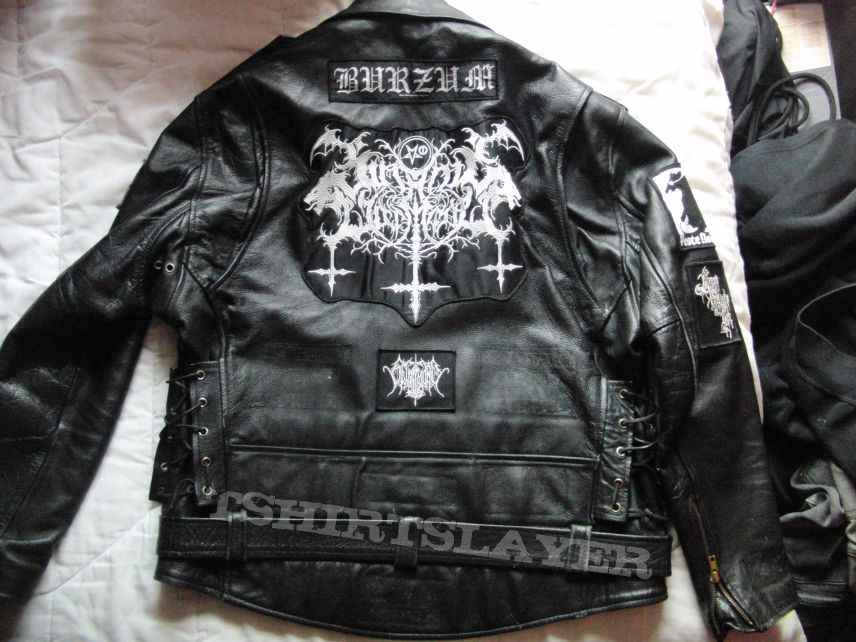 First leather jacket