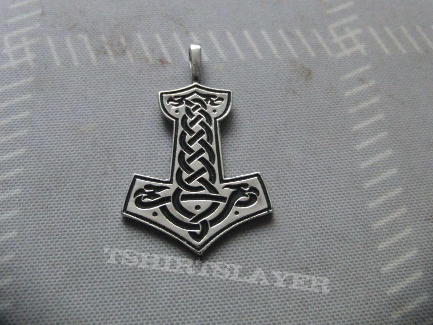 Graveland Thor's Hammer pendant