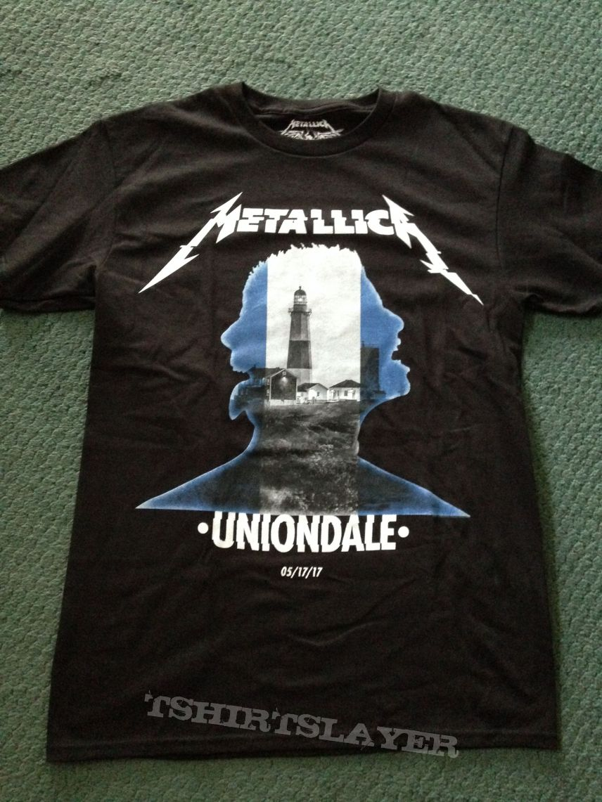 Metallica Uniondale Event shirt