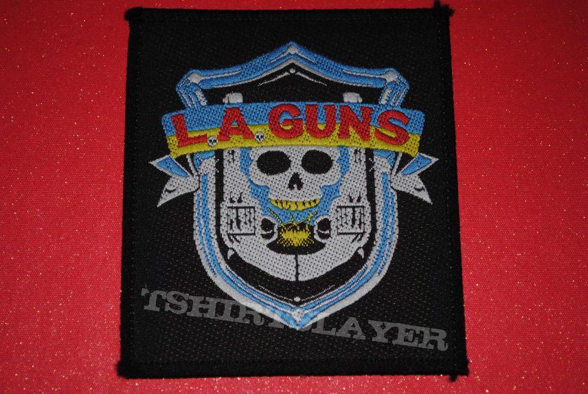 Woven L.A. Guns Patch