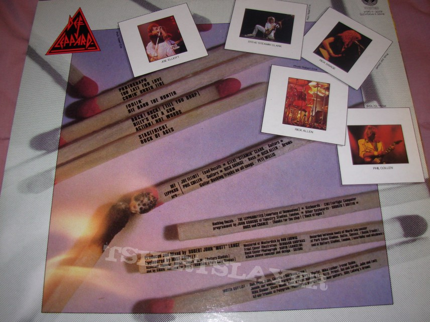 2 New Lp's: Def Leppard and Twisted Sister