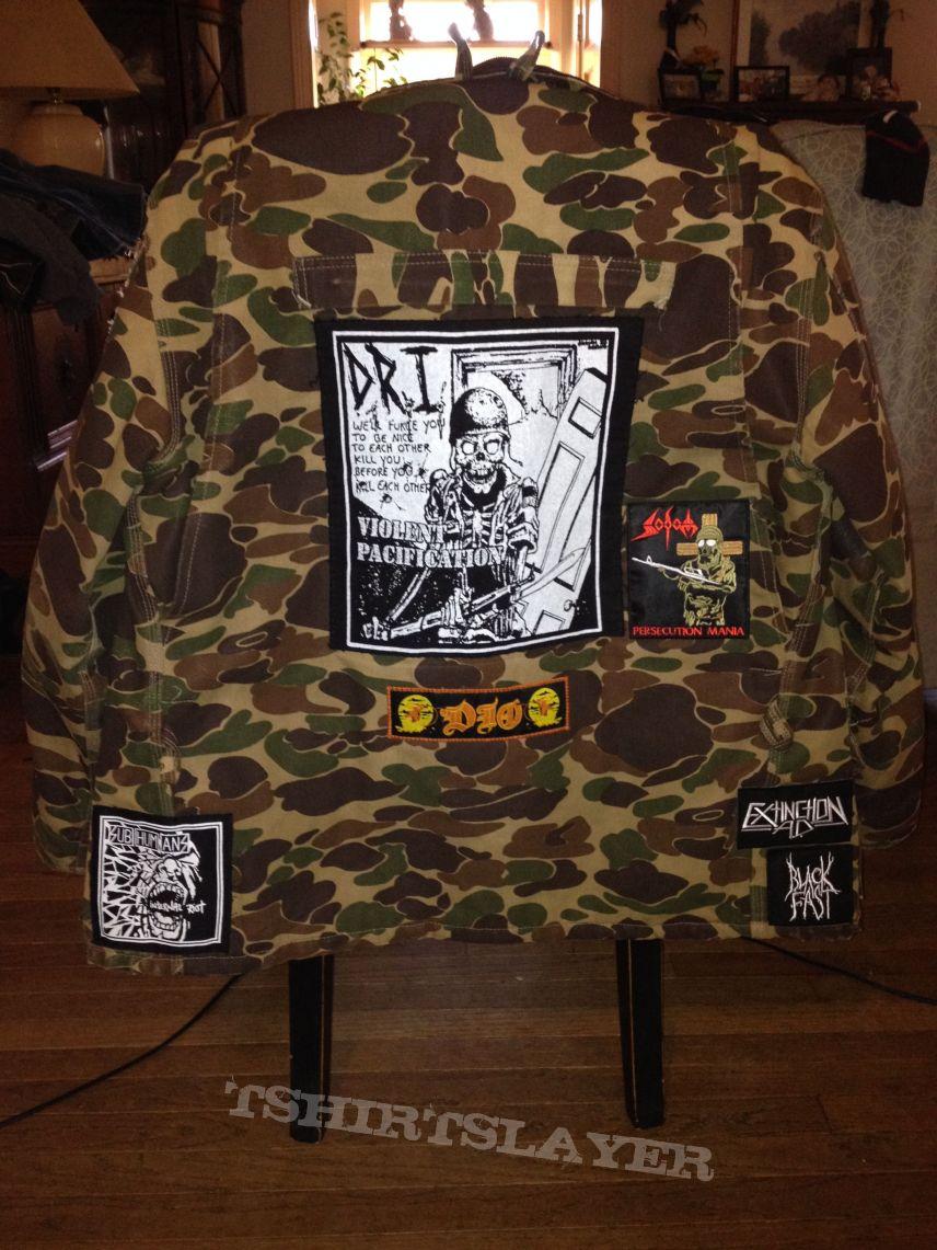 Camoflauge Battle Jacket