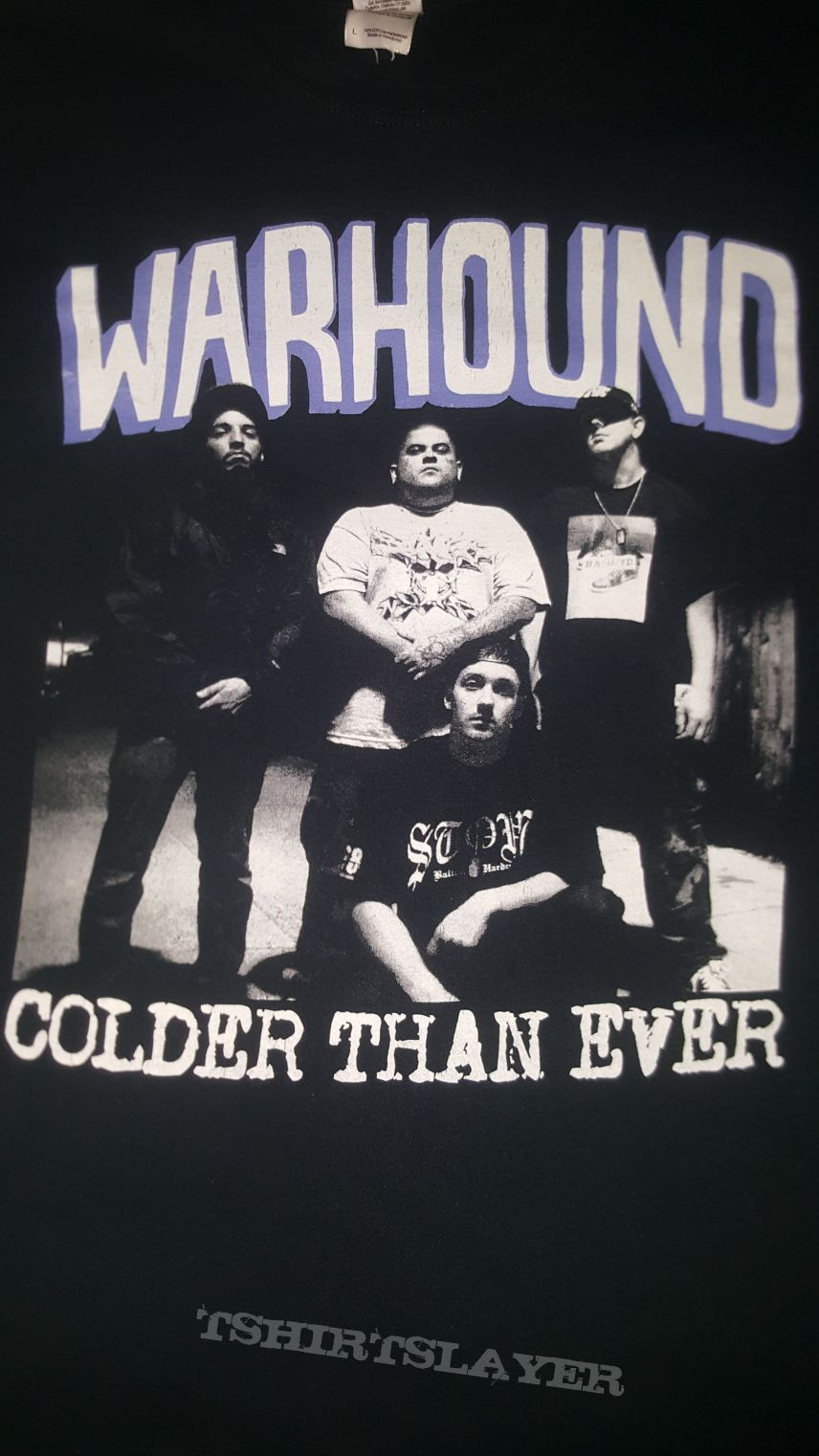 "Warhound ""Colder Than Ever"" Promo T-shirt"