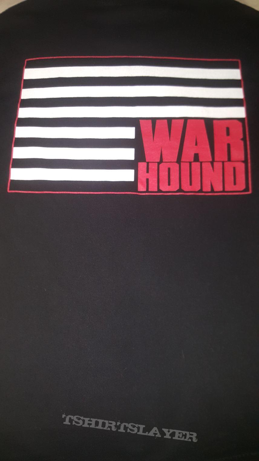 """Warhound """"Upside Down Flag"""" T-shirt"""