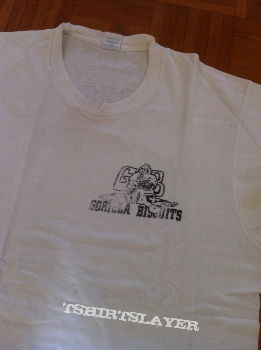 "Gorilla Biscuits ""hold your ground"" shirt"