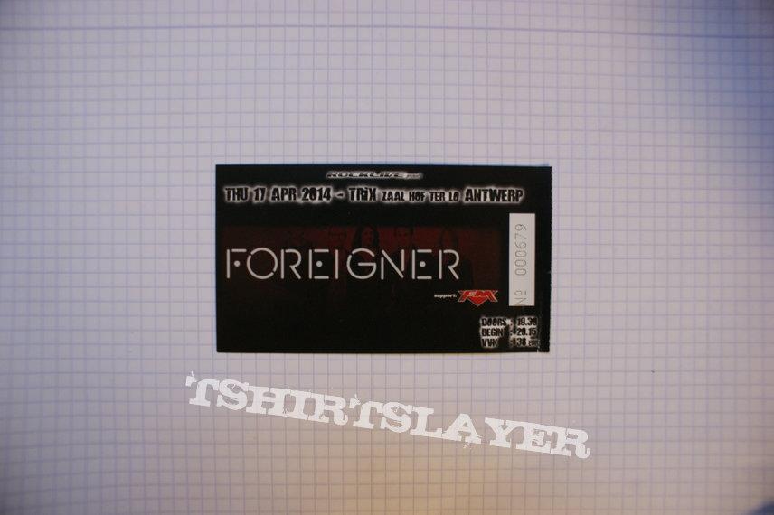 Foreigner Concert Tickets