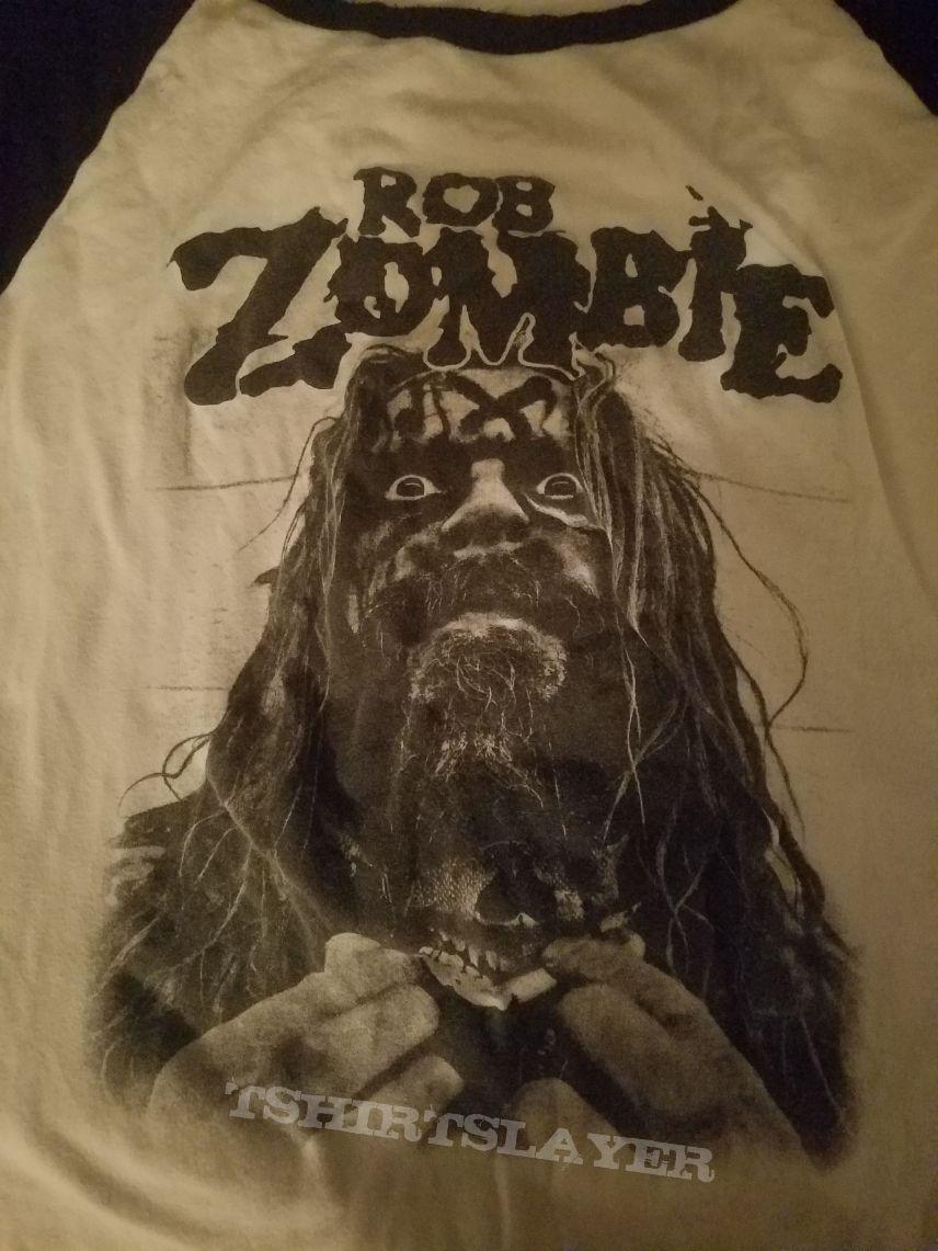 Rob Zombie & Korn Tour baseball shirt