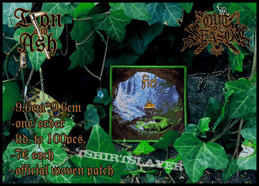 Official woven Fief II patch by Iron and Ash