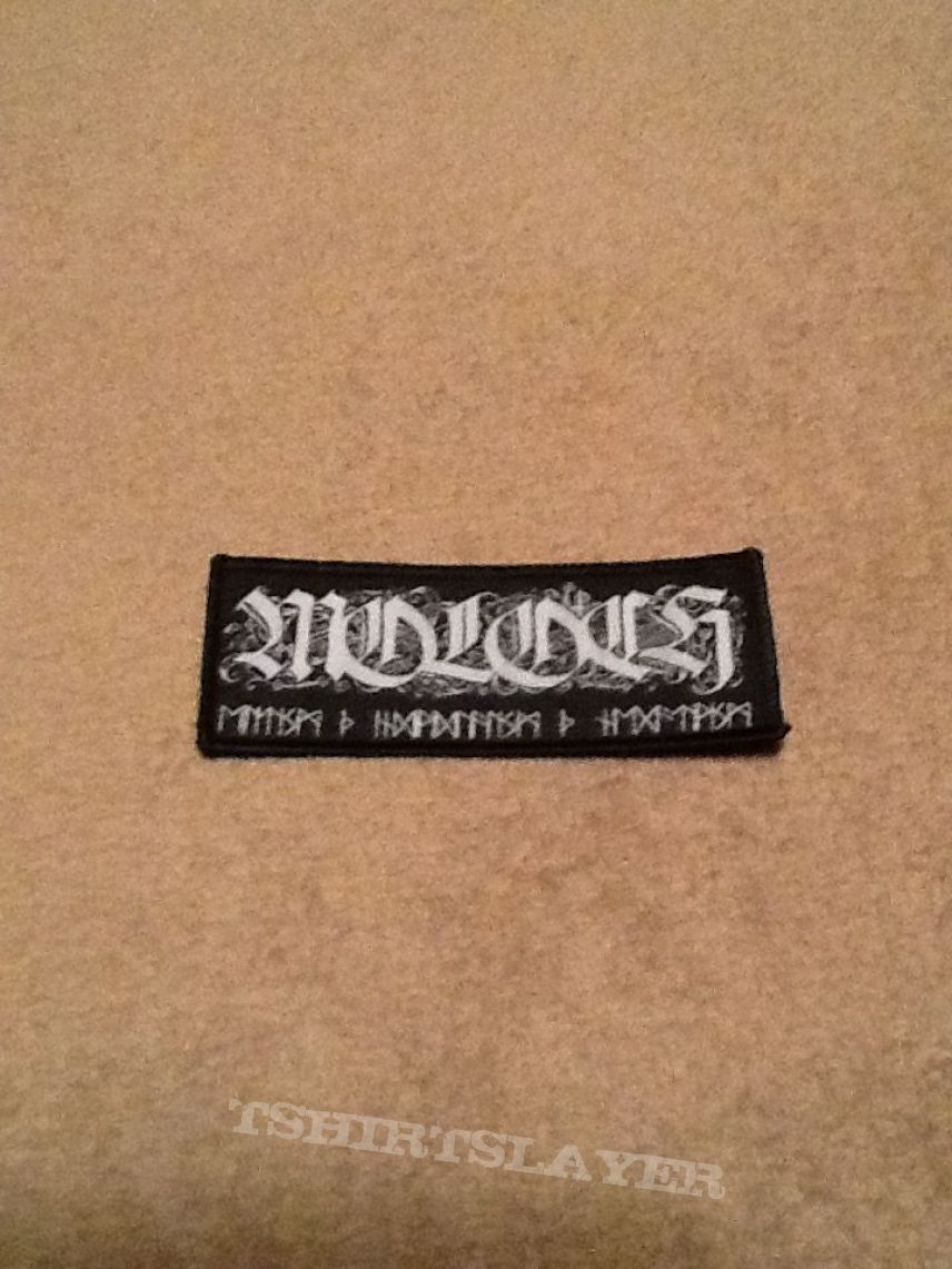 Moloch - New Logo Patch (Official)
