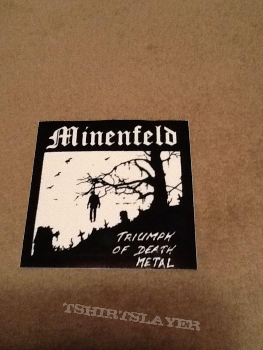 Minenfeld Sticker - Hanged Man (Official)