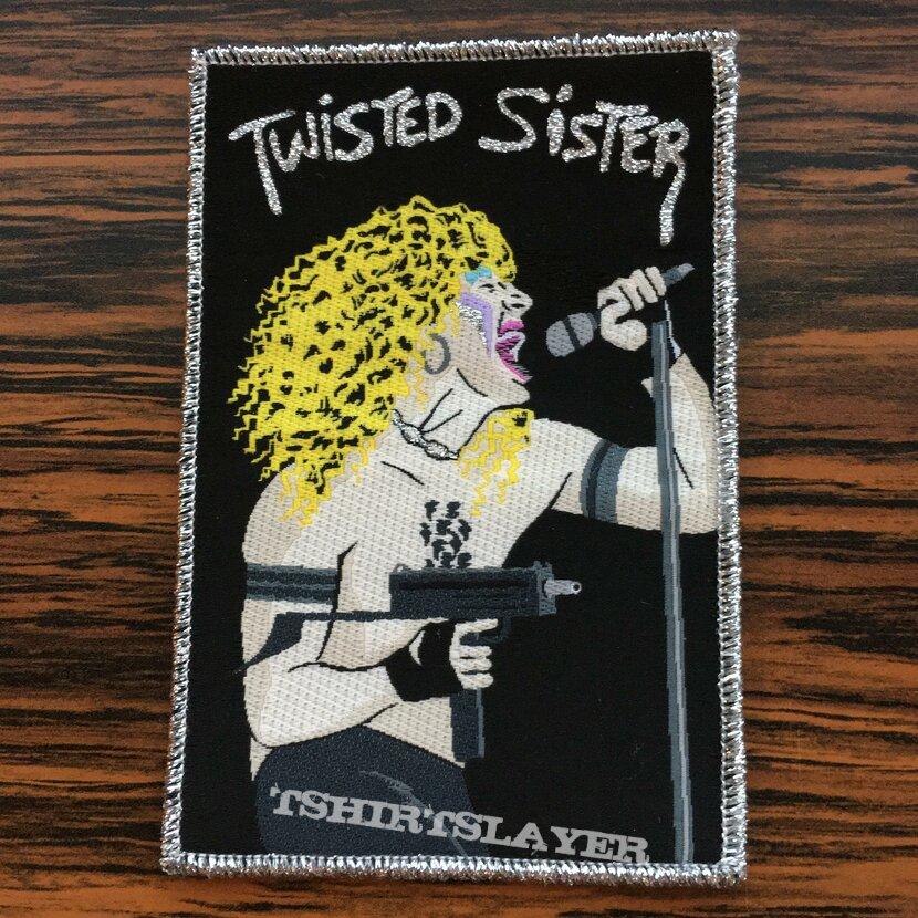 Twisted Sister Uzi Patch